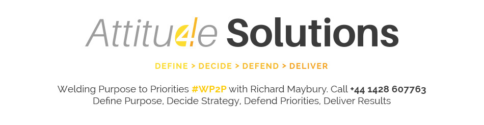 Richard Maybury's Attitude Solutions header image