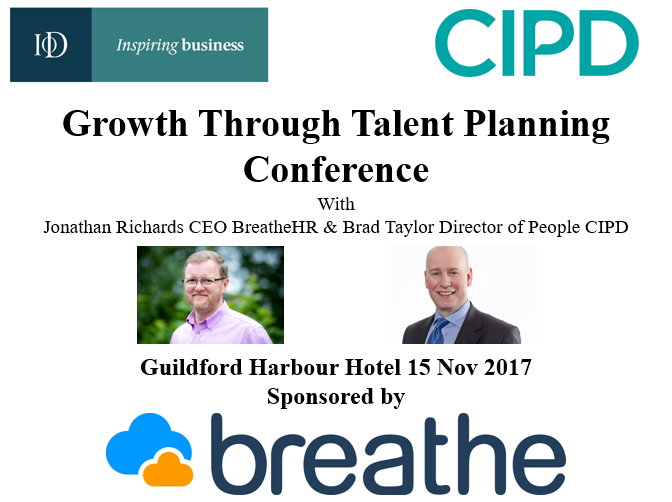 IoD CIPD Growth through Talent planning