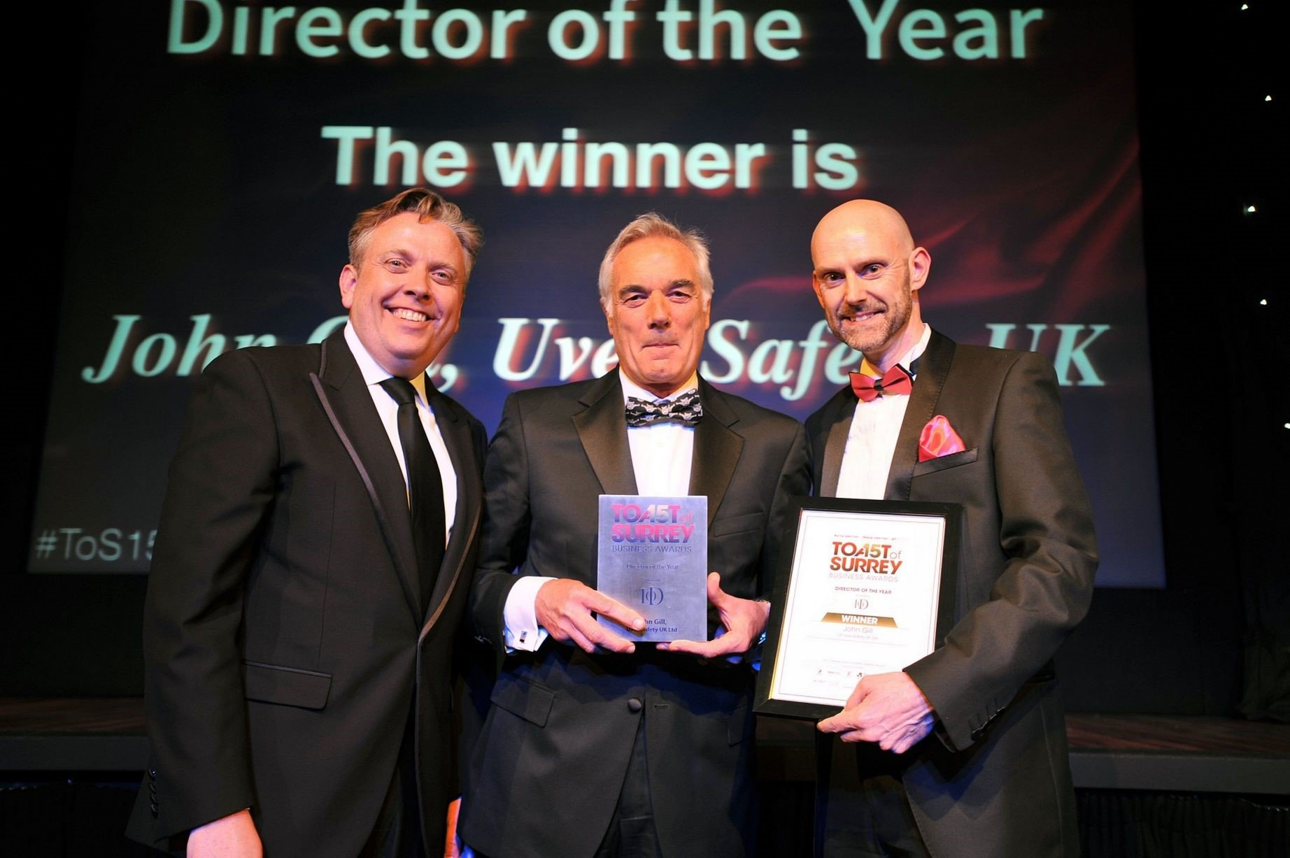 John Gill MD Uvex Director of the Year 2015