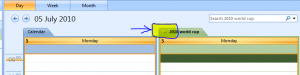 How to use Outlook Calendar overlay mode