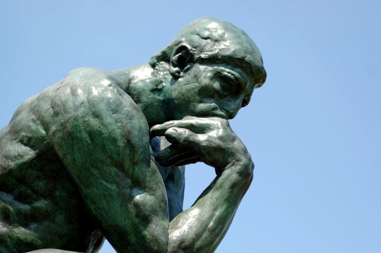 The Thinker Rodin by Brian Hillegas