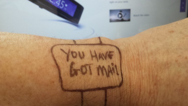my smartwatch is better than Microsoft Band