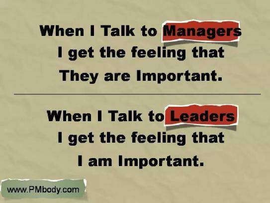how to become a good leader and manager